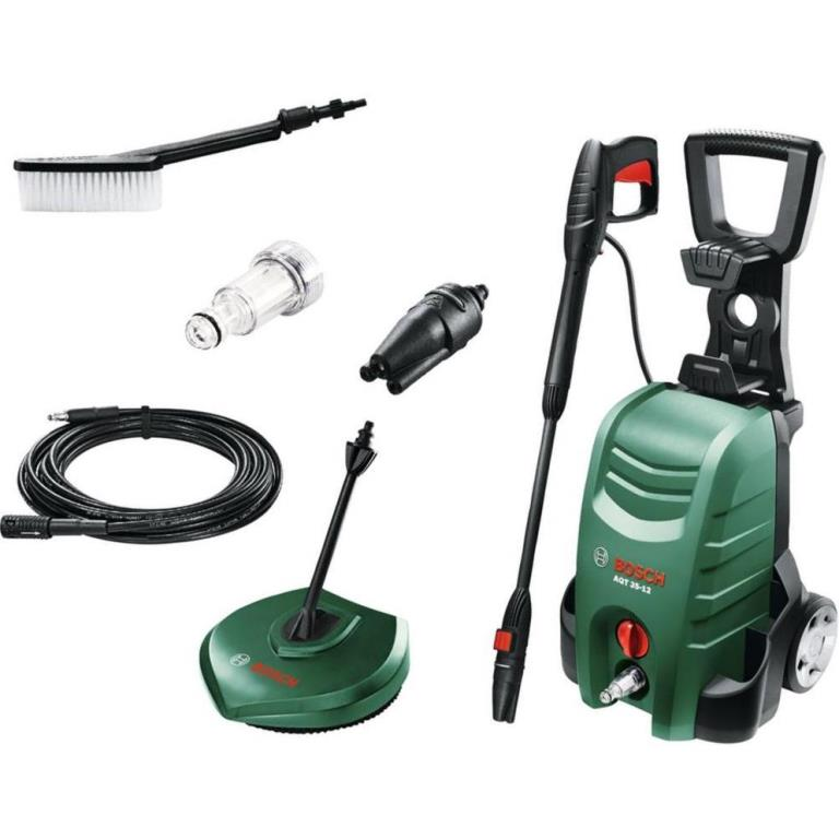 BOSCH 1500W 120BAR ELECTRIC PRESSURE WASHER - AQT 35-12 COMBI KIT