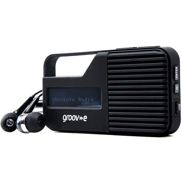 GROOV-E RIO PERSONAL DAB & FM DIGITAL RADIO - GV-DR01