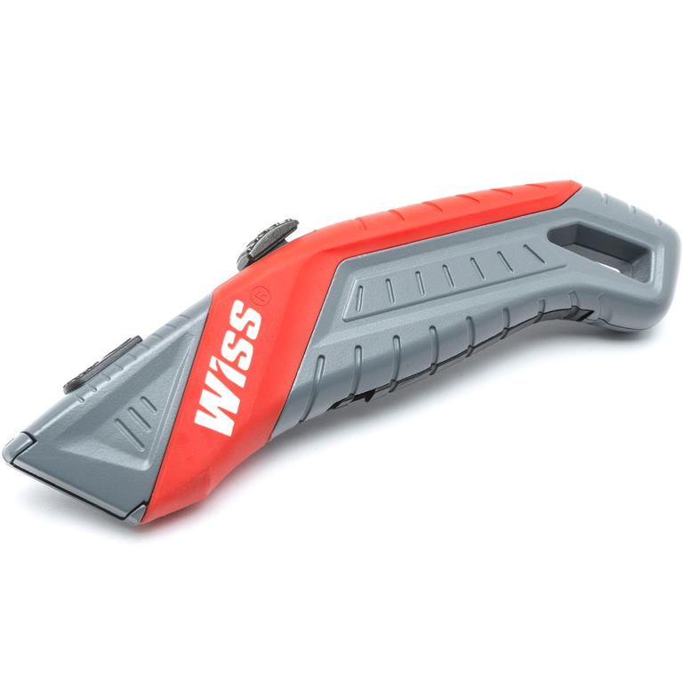 WISS AUTO-RETRACTION SAFETY UTILITY KNIFE - WKAR2