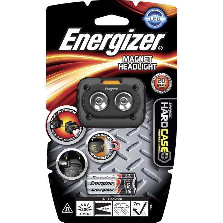 פנס ראש מקצועי - ENERGIZER 639286 - 200 LUMENS ENERGIZER