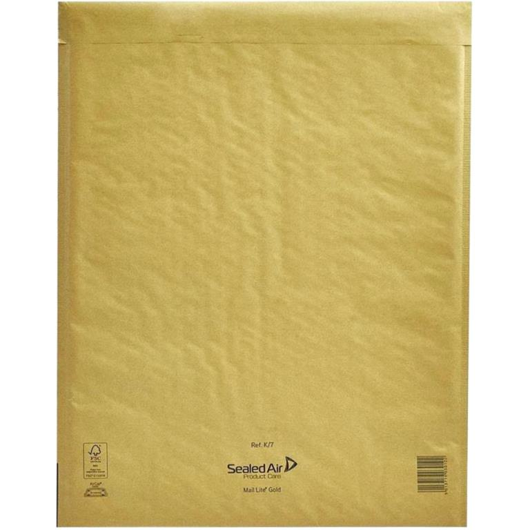 SEALED AIR MAIL LITE GOLD PADDED ENVELOPES