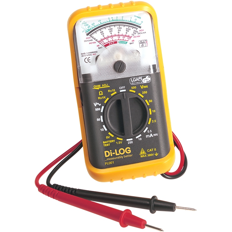 DI-LOG 5 FUNCTION ANALOGUE MULTIMETER - PL001