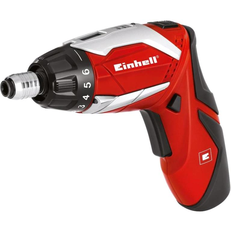 EINHELL 3.6V CORDLESS SCREWDRIVER KIT - TE-SD 3.6 LI KIT