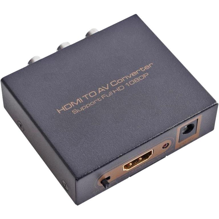 (PRO SIGNAL HDMI TO AV CONVERTER (CVBS + LR OUTPUTS