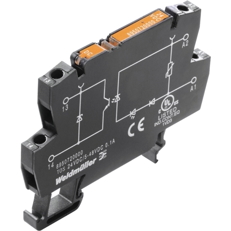 WEIDMULLER TERMOPTO DIN RAIL SOLID STATE RELAYS