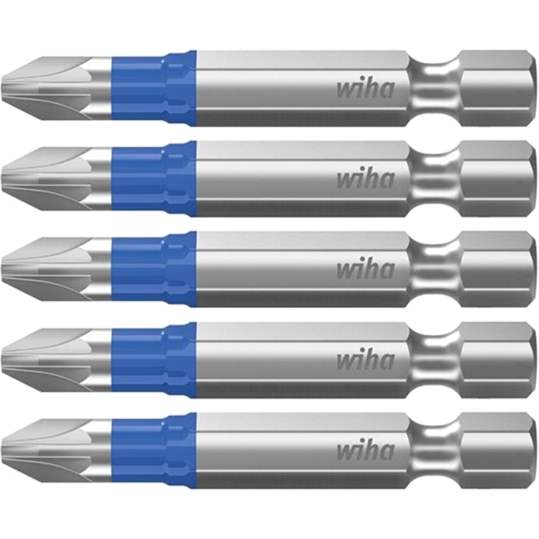 WIHA HIGH GRADE CHROME VANADIUM STEEL IMPACT PERFECT T BITS