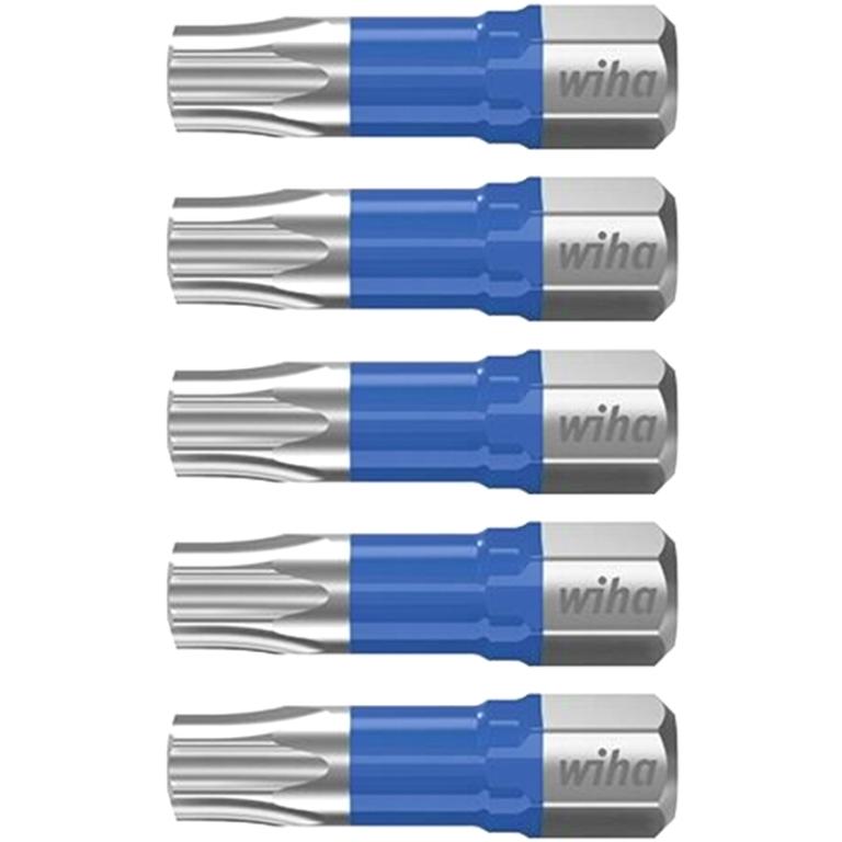 WIHA HIGH GRADE CHROME VANADIUM STEEL IMPACT PERFECT T BITS
