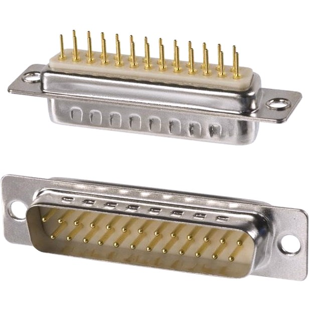 MULTICOMP D-TYPE CONNECTORS - STRAIGHT PCB - FORMED PIN