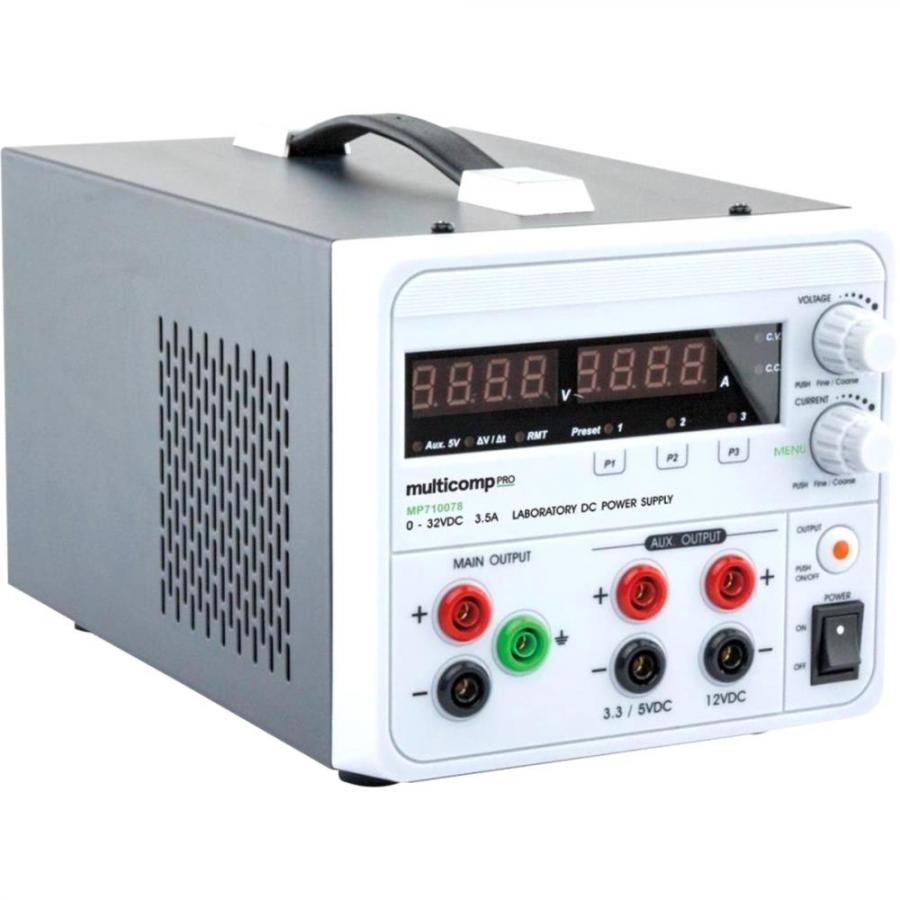 MULTICOMP PRO PROGRAMMABLE LINEAR BENCH TOP POWER SUPPLY - MP710078