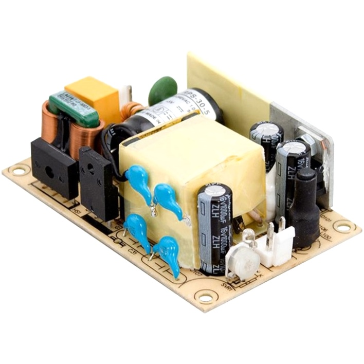 MEAN WELL OPEN FRAME INDUSTRIAL POWER SUPPLIES - RPS SERIES