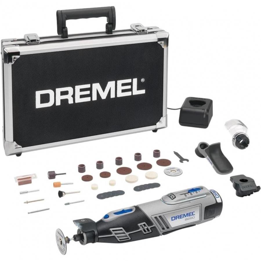 DREMEL 12V CORDLESS MULTITOOL - 8220 EXPERT KIT