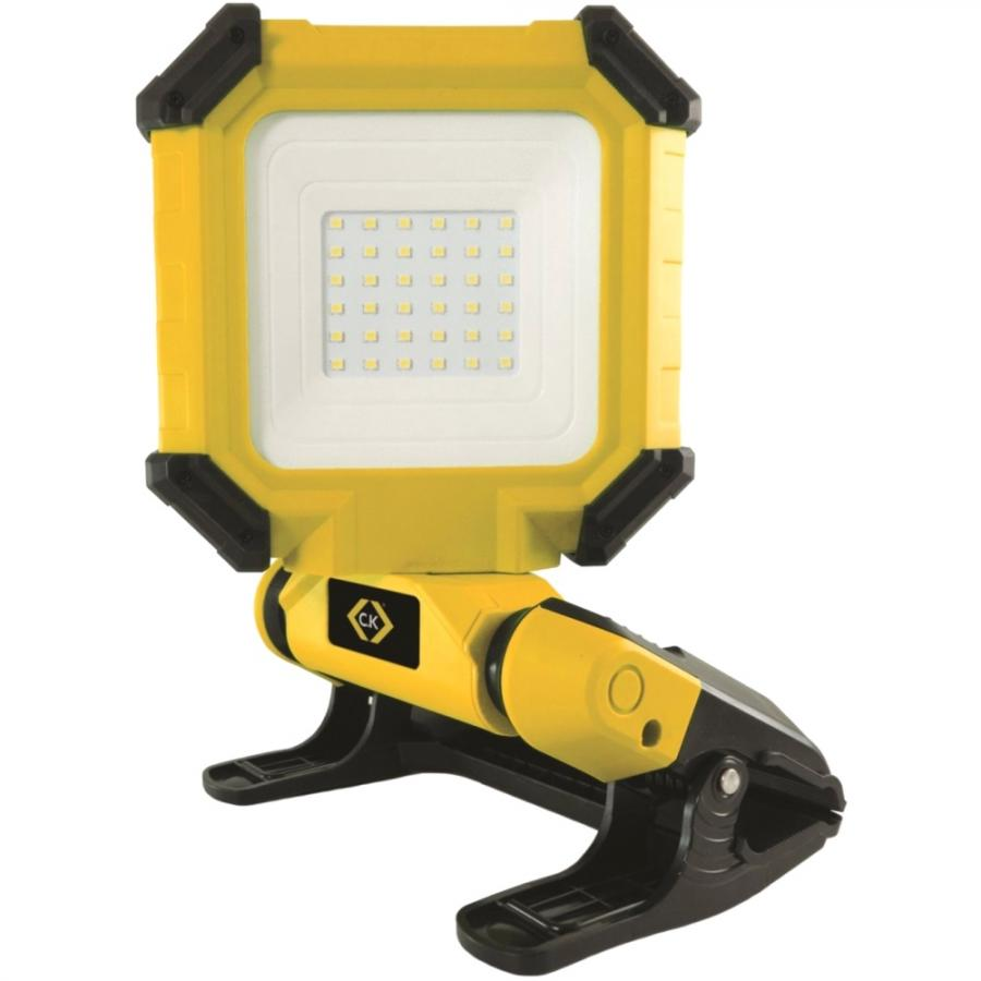 CK TOOLS T9715R 15W RECHARGEABLE LED FLOOD LIGHT - 1300 LUMENS