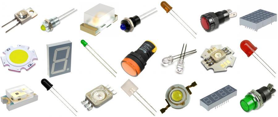 לדים ורכיבים אופטיים לדים-LEDS