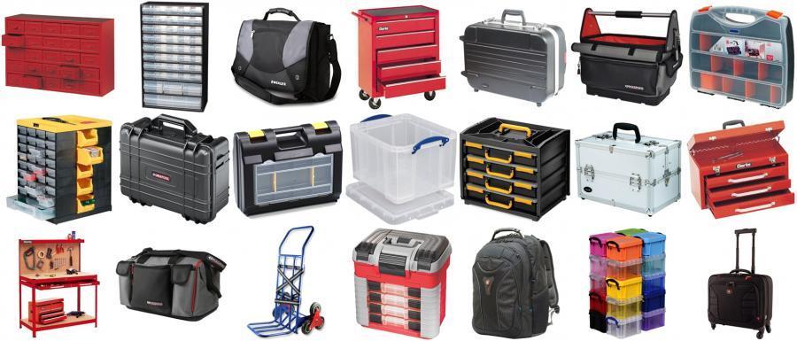ארגזי כלים ופתרונות אחסון ארגזי-כלים