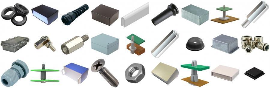 פתרונות זיווד לאלקטרוניקה זיווד-ספייסרים-קופסאות