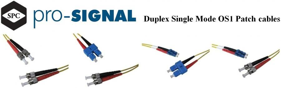 מגשרים אופטיים - DUPLEX SINGLE MODE OS1