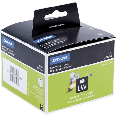מדבקות נייר DYMO - סדרת LABEL WRITER
