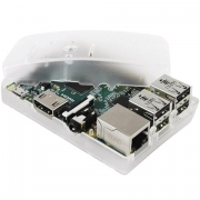 RASPBERRY PI - MODEL B+ - CLEAR CASED
