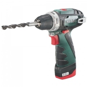 מברגה / מקדחה נטענת METABO POWERMAXX BS - 10.8V