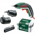 מברגה נטענת 3.6V קומפקטית - BOSCH IXO V FULL KIT