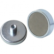 מגנט - FERRITE SHALLOW POT T/H - M3 - 4.5MM X 16MM