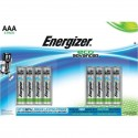 8 סוללות אלקליין - AAA 1.5V - ENERGIZER ECO ADVANCED