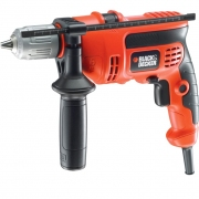 מקדחה חשמלית רוטטת BLACK & DECKER KR714CRESK - 710W