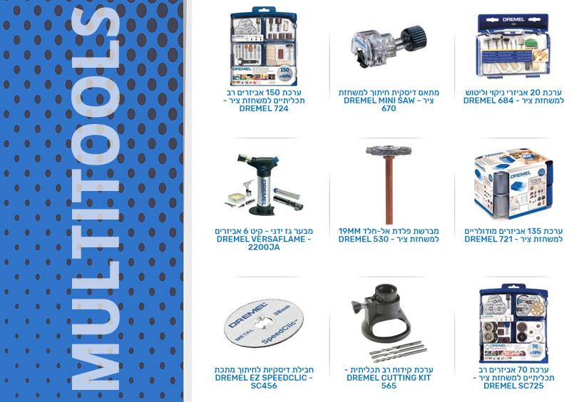 כלים רב תכליתיים - multitools