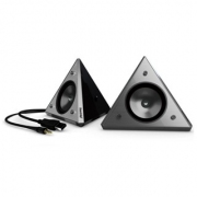 רמקולים למחשב - KWORLD PYRAMID USB SPEAKERS