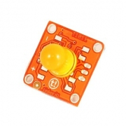 מודול תאורה - TINKERKIT 10MM YELLOW LED MODULE